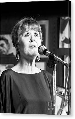 Barbara Lea, Jazz Vocalist Canvas Print by The Harrington Collection