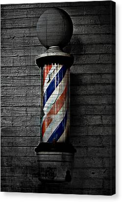 Barber Pole Blues  Canvas Print