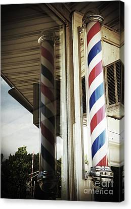 Barbershop Pole Canvas Print