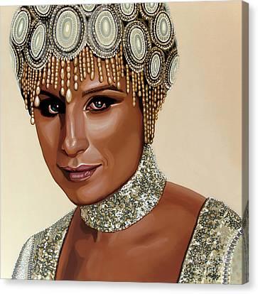 Barbra Streisand 2 Canvas Print