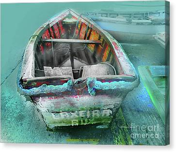 Canvas Print featuring the photograph Barca by Alfonso Garcia