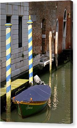 Barca Blue Canvas Print
