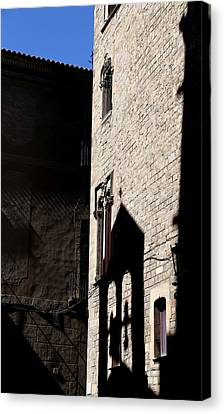 Canvas Print featuring the photograph Barcelona 2 by Andrew Fare
