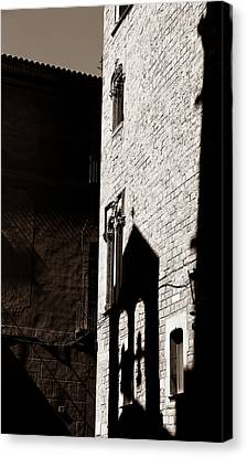 Canvas Print featuring the photograph Barcelona 2b by Andrew Fare