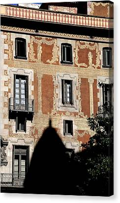 Canvas Print featuring the photograph Barcelona 3 by Andrew Fare