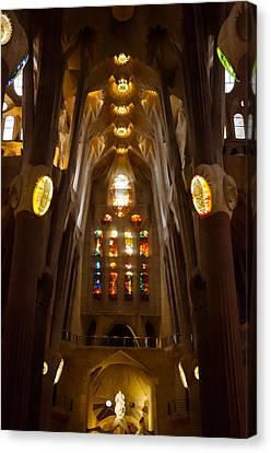 Barcelona - Sagrada Familia 2  Canvas Print by Andrea Mazzocchetti