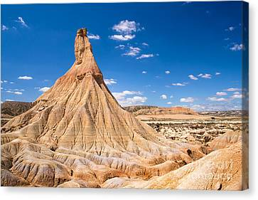 Navarre Canvas Print - Bardenas Reales by Delphimages Photo Creations