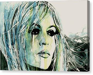 Bardot Canvas Print by Paul Lovering