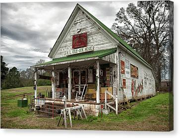 Barfield General Store Canvas Print