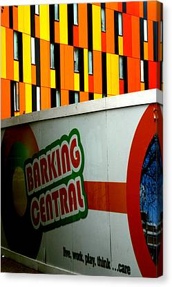 Barking Central Canvas Print by Jez C Self