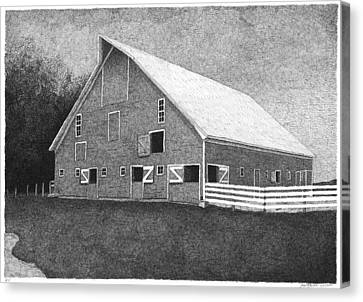 Barn 11 Canvas Print by Joel Lueck