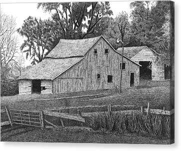 Barn 14 Canvas Print by Joel Lueck