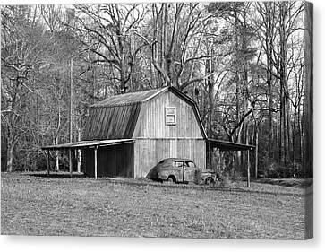 Canvas Print featuring the photograph Barn 2 by Mike McGlothlen