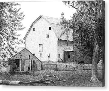 Barn 23 Canvas Print by Joel Lueck