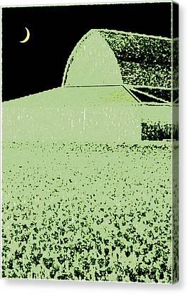 Barn Abstract Canvas Print
