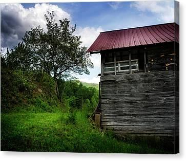 Barn After Rain Canvas Print by Greg Mimbs