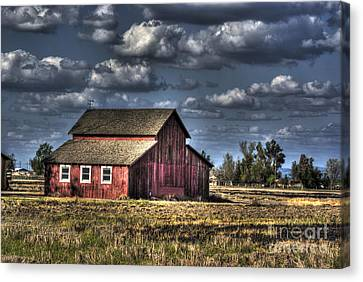 Barn After Storm Canvas Print by Jim and Emily Bush