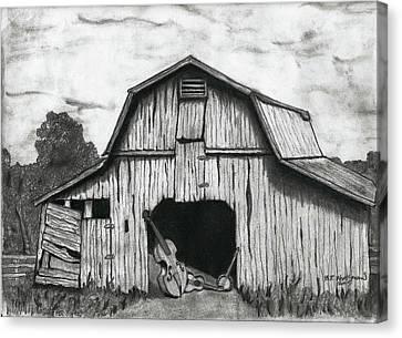 Barn Dance Canvas Print