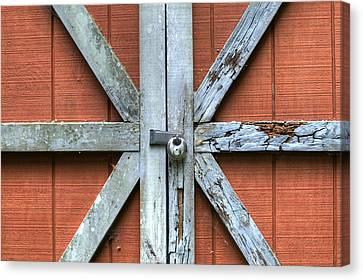 Barn Door 1 Canvas Print by Dustin K Ryan