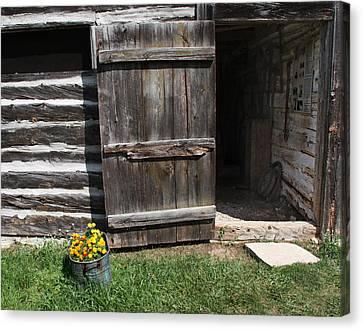 Barn Door Canvas Print by Joanne Coyle