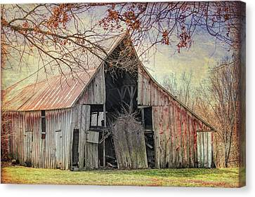 Barn Of The Indian Summer Canvas Print
