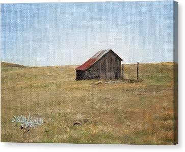 Barn Canvas Print by Joshua Martin