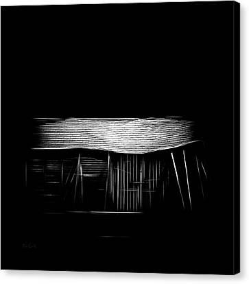 Figment Canvas Print - Barn  Mirage by Bob Orsillo