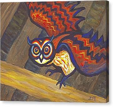 Barn Owl 801 Canvas Print