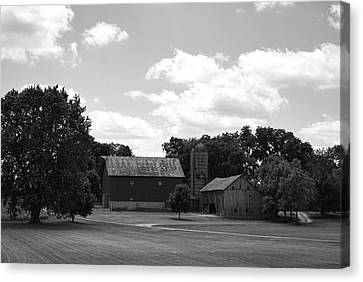 barn scene No.2 Canvas Print by Tom Druin