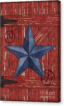 Barn Star - Vertical Canvas Print