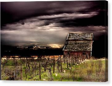 Barn Storm Canvas Print - Barn Storm by Jill Ellingson