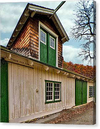 Canvas Print featuring the photograph Barn Wall by Robert Culver