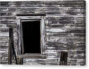 Barn Window Canvas Print by Garry Gay