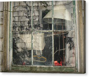 Barn Window Nantucket Canvas Print