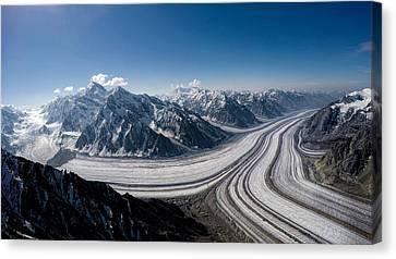 Barnard Glacier Alaska Canvas Print