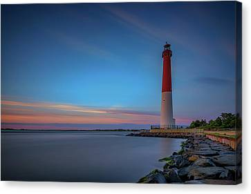 Guides Canvas Print - Barnegat Inlet by Rick Berk
