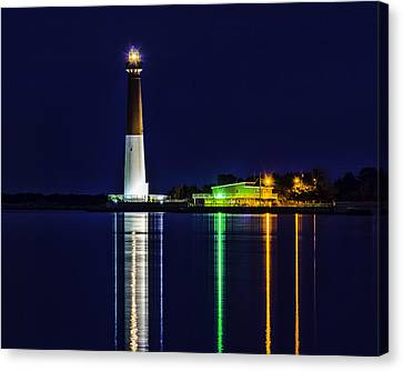 Barnegat Light Across The Bay Canvas Print