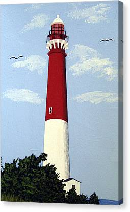 Barnegat Lighthouse Canvas Print by Frederic Kohli