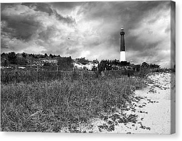 Barnegat Lighthouse Canvas Print by John Rivera