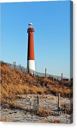 Barnegat Lighthouse Nj Canvas Print by John Greim