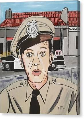 Barney Fife Canvas Print