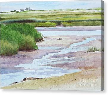 Barnstable Marsh Canvas Print by Karol Wyckoff