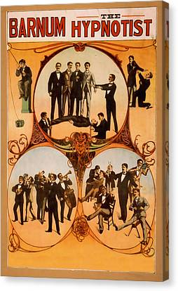 Barnum The Hypnotist Canvas Print