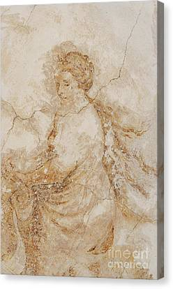 Baroque Mural Painting Canvas Print by Michal Boubin