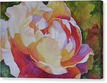 Baroque Rose Canvas Print by H S Craig