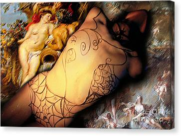 Baroque Canvas Print by Sandro Rossi