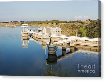 Barragem Do Alqueva Canvas Print by Compuinfoto