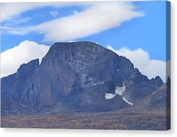 Canvas Print featuring the photograph Barren Mountain Landscape Colorado by Dan Sproul