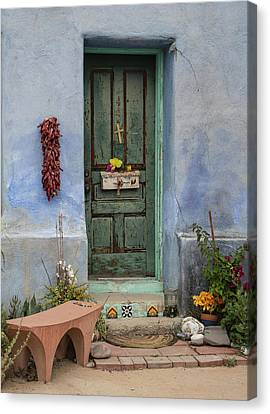Barrio Door Canvas Print