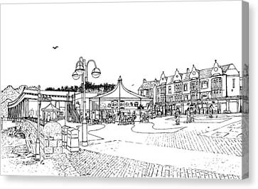 Barry Island Number 1 Canvas Print